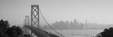 Bay Bridge, Skyline, City, San Francisco, California, USA Fotografisk tryk