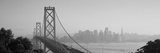 Bay Bridge, Skyline, City, San Francisco, California, USA Photographic Print