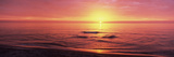 Sunset over the Sea, Venice Beach, Sarasota, Florida, USA Photographic Print