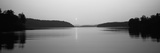 Reflection of Sun in a Lake, Lake Chatuge, Western Mountains, North Carolina, USA Photographic Print