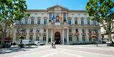 Facade of a Building, Hotel De Ville, Place De L'Horloge, Avignon, Vaucluse Photographic Print