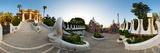 Park Guell, Barcelona, Catalonia, Spain Papier Photo