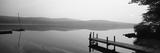 Pier, Pleasant Lake, New Hampshire, USA Fotografie-Druck