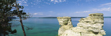 Miner's Castle, Pictured Rocks National Lakeshore, Lake Superior, Munising, Upper Peninsula Photographic Print