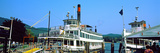 Minne Ha Ha Steamboat at Dock, Lake George, New York State, USA Photographic Print