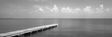 Dock, Mobile Bay Alabama, USA Photographic Print