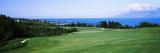 Golf Course at the Oceanside, Kapalua Golf Course, Maui, Hawaii, USA Photographie