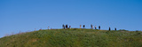 People on a Hill, Baldwin Hills Scenic Overlook, Los Angeles County, California, USA Photographic Print