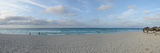 Sunshades on the Beach, Varadero Beach, Varadero, Matanzas, Cuba Photographic Print