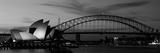 Australia, Sydney, Sunset Fotografisk trykk