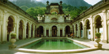 Courtyard of a Mansion, Parque Lage, Jardim Botanico, Corcovado, Rio De Janeiro, Brazil Photographic Print