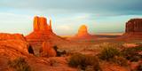 Buttes Rock Formations at Monument Valley, Utah-Arizona Border, USA Photographic Print