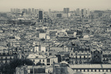 Aerial View of a City Viewed from Basilique Du Sacre Coeur, Montmartre, Paris, Ile-De-France, Fr... Photographic Print by Green Light Collection
