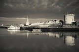 Tour De La Lanterne and Tour De La Chaine Towers, La Rochelle, Charente-Maritime Photographic Print by Green Light Collection