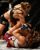 UFC 168: Dec 28, 2013 - Ronda Rousey vs Miesha Tate Photographic Print by Josh Hedges