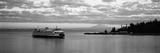 Ferry in the Sea, Bainbridge Island, Seattle, Washington State, USA Fotografie-Druck