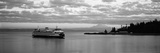 Ferry in the Sea, Bainbridge Island, Seattle, Washington State, USA Photographic Print