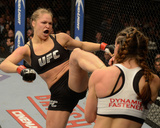 UFC 168: Dec 28, 2013 - Ronda Rousey vs Miesha Tate Photographic Print by Donald Miralle