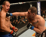 UFC 155: Dec 29, 2012 - Junior dos Santos vs Cain Velasquez Photographic Print by Donald Miralle