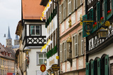Low Angle View of Lower Town Buildings, Bamberg, Bavaria, Germany Photographic Print by Green Light Collection
