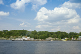 Boats in a Lake, Gravenhurst Bay, Gravenhurst, Ontario, Canada Photographic Print by Green Light Collection