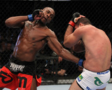 UFC 128: Mar 19, 2011 - Mauricio Rua vs Jon Jones Photographic Print by Al Bello