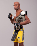 UFC 148: Jul 7, 2012 - Anderson Silva vs Chael Sonnen Photographic Print by Jim Kemper