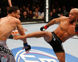 UFC on FOX: Jan 26, 2013 - Demetrious Johnson vs John Dodson Photographic Print by Josh Hedges
