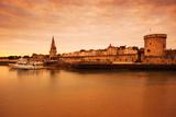 Tour De La Lanterne and Tour De La Chaine Towers, La Rochelle, Charente-Maritime Photographic Print by Green Light Collection