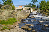 Water Falling Through Dam, Moon River Dam, Moon River, Bala, Ontario, Canada Photographic Print by Green Light Collection