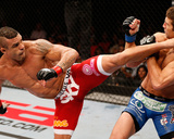 UFC on FX: May 18, 2013 - Vitor Belfort vs Michael Bisping Photographic Print by Josh Hedges