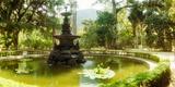 Fountain in a Botanical Garden, Jardim Botanico, Corcovado, Rio De Janeiro, Brazil Photographic Print