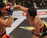 Strikeforce: Dec 17, 2011 - Gilbert Melendez vs Jorge Masvidal Photographic Print by Josh Hedges