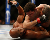 UFC 168: Dec 28, 2013 - Chris Weidman vs Anderson Silva Photographic Print by Josh Hedges