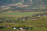Aerial View of a Town, Park City, Utah, USA Photographic Print by Green Light Collection