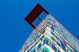 Low Angle View of Colorium Building, Medienhafen, Dusseldorf, North Rhine Westphalia, Germany Photographic Print by Green Light Collection