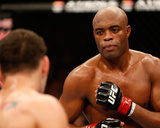 UFC 162: Jul 6, 2013 - Anderson Silva vs Chris Weidman Photo by Josh Hedges