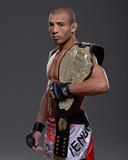 UFC Fighter Portraits: Jose Aldo Photographic Print by Jeff Bottari