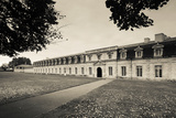 Facade of the Rope Making Factory of the French Navy, Corderie Royale, Rochefort Photographic Print by Green Light Collection