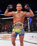 UFC 164: Aug 31, 2013 - Benson Henderson vs Anthony Pettis Fotografisk tryk af Ed Mulholland