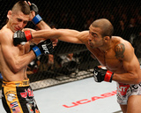 UFC 169: Feb 1, 2014 - Jose Aldo vs Ricardo Lamas Photographic Print by Josh Hedges
