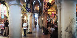 Tourists in a Market, Grand Bazaar, Istanbul, Turkey Photographic Print