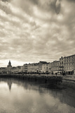 Buildings at the Waterfront, Old Port, La Rochelle, Charente-Maritime, Poitou-Charentes, France Photographic Print by Green Light Collection