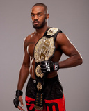 UFC Fighter Portraits: Jon Jones Fotografiskt tryck av Jim Kemper