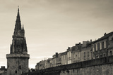 High Section View of a Tower, Tour De La Lanterne, La Rochelle, Charente-Maritime Photographic Print by Green Light Collection