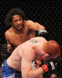 UFC 129: Apr 30, 2011 - Mark Bocek vs Ben Henderson Photographic Print by Al Bello