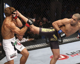 UFC 149: Jul 21, 2012 - Urijah Faber vs Renan Barao Photographic Print by Nick Laham