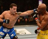 UFC 162: Jul 6, 2013 - Anderson Silva vs Chris Weidman Photo af Donald Miralle
