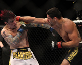 UFC 143: Feb 4, 2012 - Renan Barao vs Scott Jorgensen Photographic Print by Josh Hedges