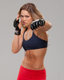 UFC Fighter Portraits: Ronda Rousey Foto af Jim Kemper